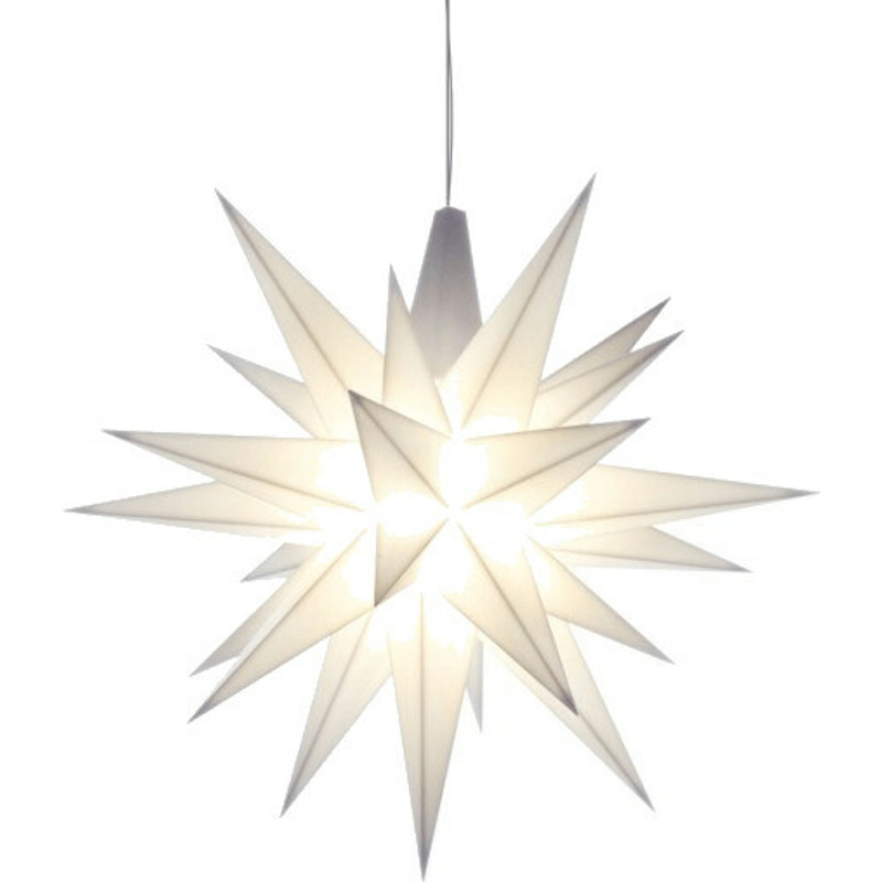 Herrnhuter Stern A1e (13cm) weiß