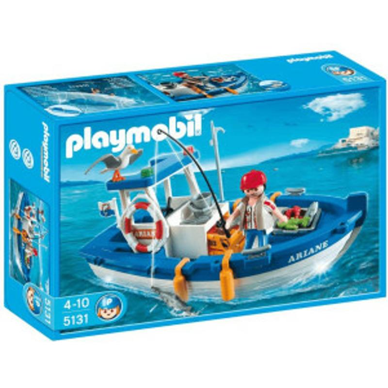 Playmobil Fischkutter (5131)