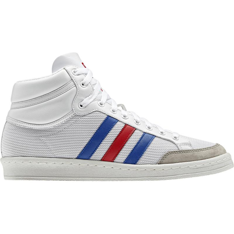 Image of Adidas Americana Hi 88 running white/vivid red/true blue