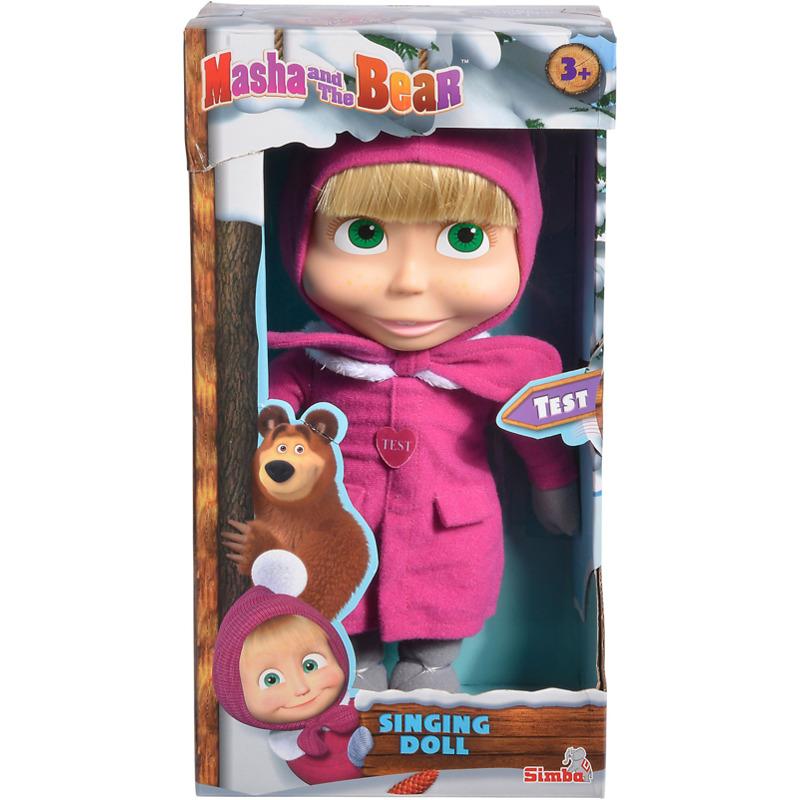 Simba Mascha und der Bär, Singenden Puppe 30cm