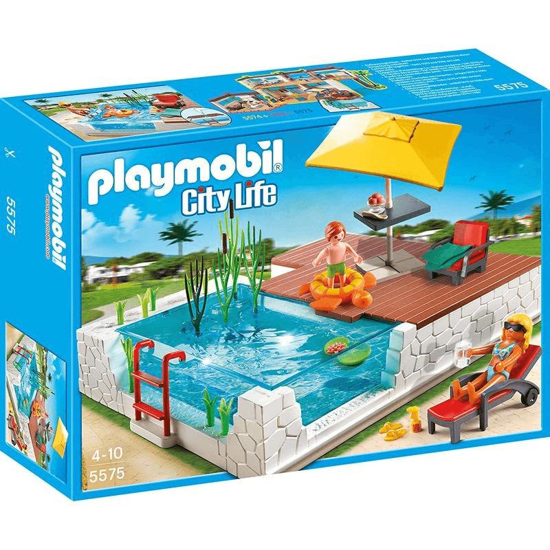 Playmobil City Life - Einbau Swimmingpool (5575)