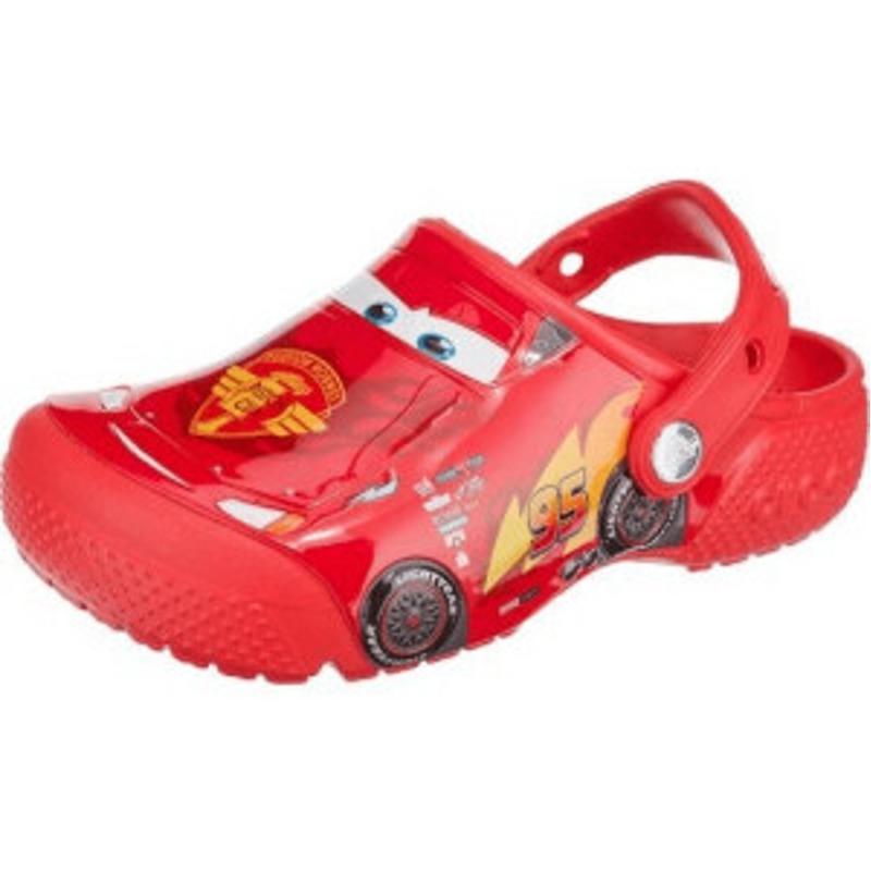 Crocs Fun Lab Clogs Cars flame