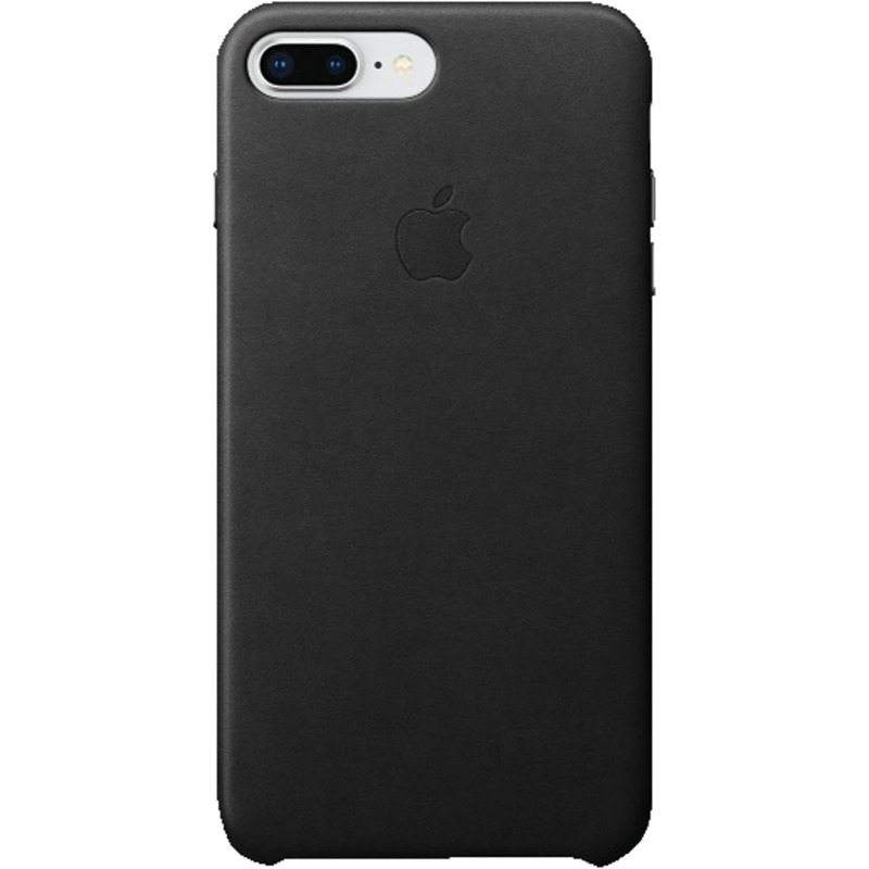 Apple Leather Case (iPhone 7 Plus/8 Plus) black