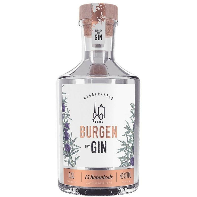 Schlitzer Burgen Dry Gin 0,5l 45%