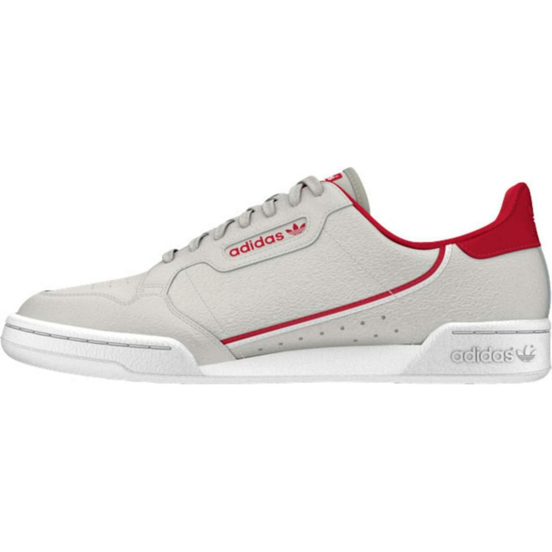 Image of Adidas Continental 80 grey one/scarlet/cloud whiteOfferta a tempo limitato - Affrettati
