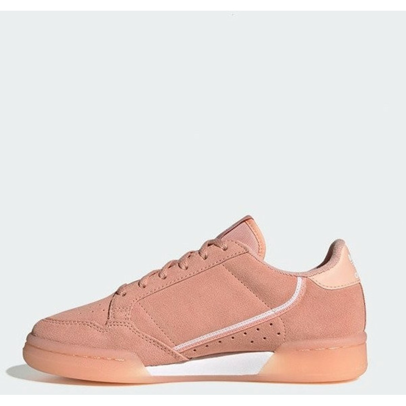 Image of Adidas Continental 80 Kids Pink/Clear Orange