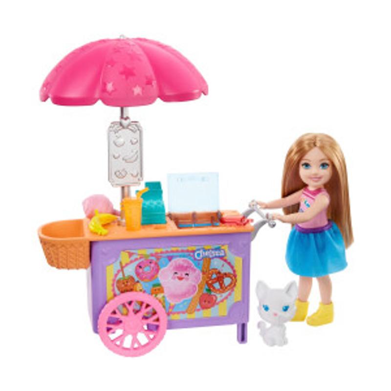 Barbie Chelsea-Spielset mit Puppe und Imbisswagen
