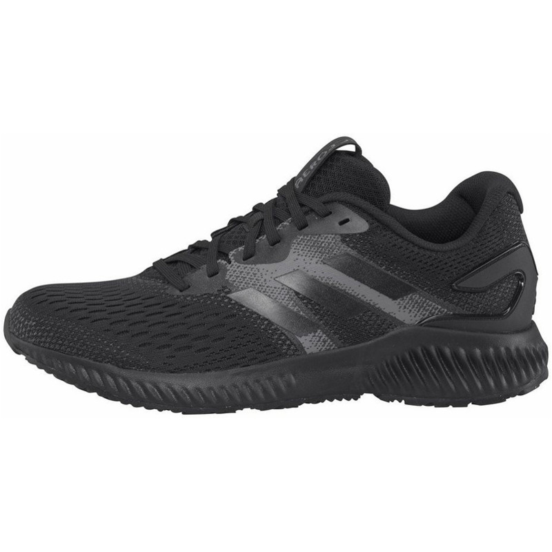 Image of Adidas Aerobounce core black/core black/grey four