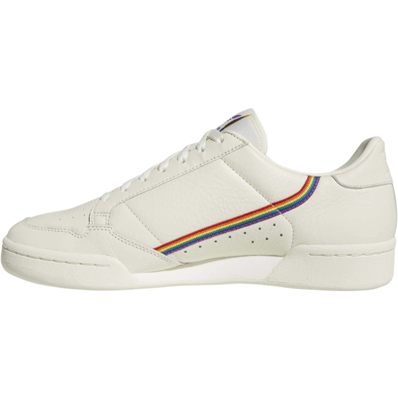 Image of Adidas Continental 80 Pride off white/off white/off white