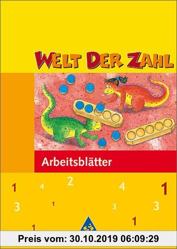 Welt Der Zahl 1 Arbeitsblätter Mathematisches Unterrichtswerk Für Die Grundschule Lernmaterialien