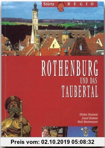 Gebr. - Rothenburg und das Taubertal (Stürtz Regio)