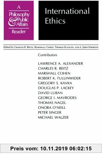 Gebr. - International Ethics: A Philosophy and Public Affairs Reader (Philosophy and Public Affairs Readers)