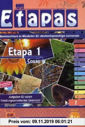 Gebr. - Etapa 1, Cosas: Spanischkurs in Modulen für deutschsprachige Lernende / Kursbuch + Arbeitsbuch + Wortschatz + Grammatikanhang + Audio-CD