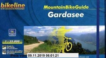 Gebr. - bikeline MountainBikeGuide Gardasee, 1.080 km, 1:35.000, wetterfest/reißfest, GPS-Tracks Download, alle Touren herausnehmbar