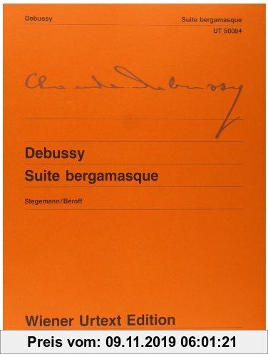 Gebr. - Suite bergamasque: Nach der Erstausgabe. Klavier. (Wiener Urtext Edition)