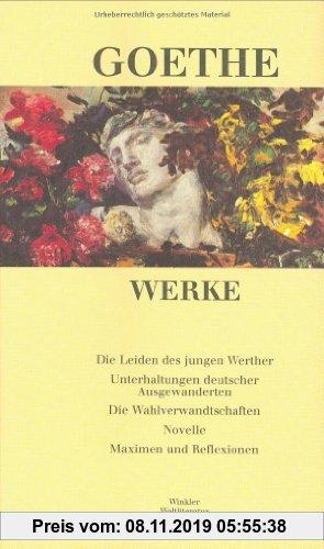 Gebr. - Werke in sechs Einzelbänden. Nach dem Text der Artemis-Gedenkausgabe der Werke Goethes: Werke, 6 Bde., Ln, Bd.3, Die Leiden des jungen Werther