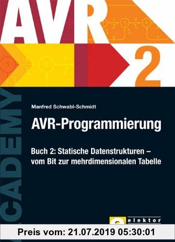 Gebr. - AVR-Programmierung 2: Statische Datenstrukturen Â? vom Bit zur mehrdimensionalen Tabelle: BD 2