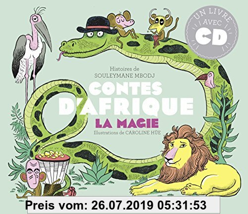 Gebr. - Contes d'Afrique : La magie (1CD audio)