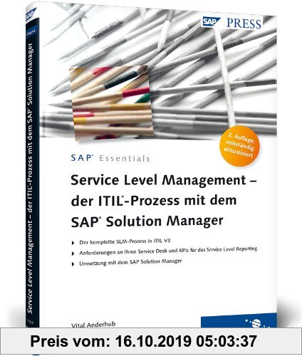 Gebr. - Service Level Management - der ITIL-Prozess mit dem SAP Solution Manager (SAP PRESS)