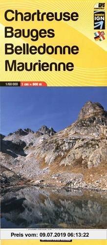 Gebr. - Libris Wanderkarte 03. Chartreuse - Bauges - Belledonne - Maurienne 1 : 60 000