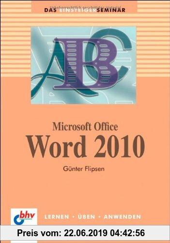 Gebr. - Microsoft Office Word  2010 (bhv Einsteigerseminar)