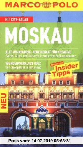 Gebr. - MARCO POLO Reiseführer Moskau: Reisen mit Insider-Tipps. Mit Cityatlas