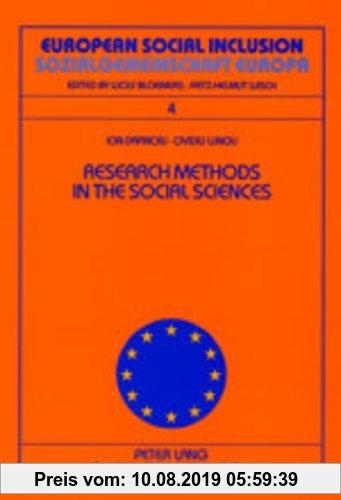 Gebr. - Research Methods in the Social Sciences- Metode de cercetare în ?tiin?ele sociale (European Social Inclusion)