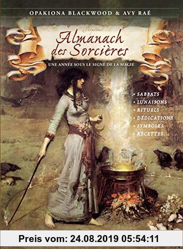 Gebr. - Almanach des sorcières : Une année sous le signe de la magie, avec le livret Heures planétaires de Samhain 2018 à Samhain 2019