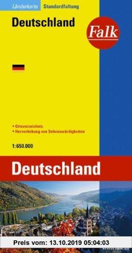 Gebr. - Falk Länderkarte Deutschland 1:650 000