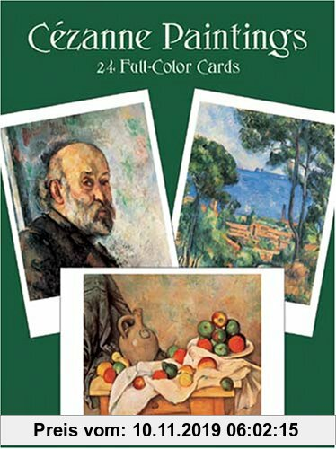 Gebr. - Cezanne Paintings: 24 Cards: Twenty Four Full Colour Cards (Card Books)