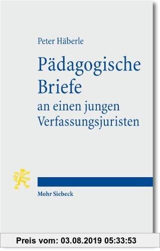 Gebr. - Pädagogische Briefe an einen jungen Verfassungsjuristen