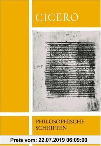 Gebr. - Auswahl aus De re publica und anderen philosophischen Schriften, Tl.A, Text