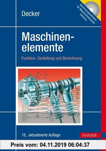 Gebr. - Decker Maschinenelemente: Funktion, Gestaltung und Berechnung