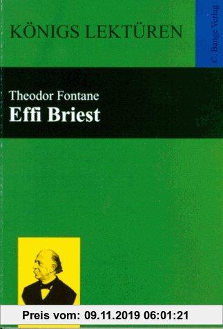 Gebr. - Königs Lektüren - Effi Briest - Roman. Textausgabe