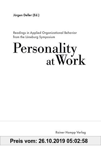 Gebr. - Readings in Applied Organizational Behavior from the Lüneburg Symposium