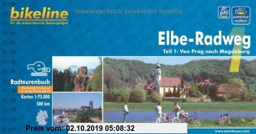 Gebr. - bikeline Radtourenbuch: Elbe-Radweg, Teil 1: Von Prag nach Magdeburg. 1:75.000; wetterfest/reißfest; GPS-Tracks Download