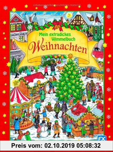 Gebr. - Mein extradickes Wimmelbuch Weihnachten