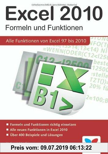 Gebr. - Excel 2010 - Formeln und Funktionen