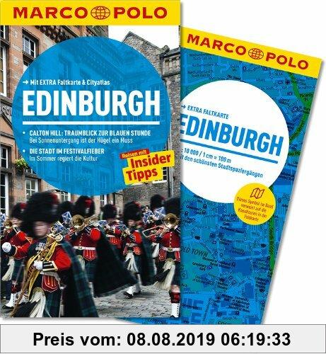 Gebr. - MARCO POLO Reiseführer Edinburgh: Calton Hill: Traumblick zur blauen Stunde. Die Stadt im Festivalfieber