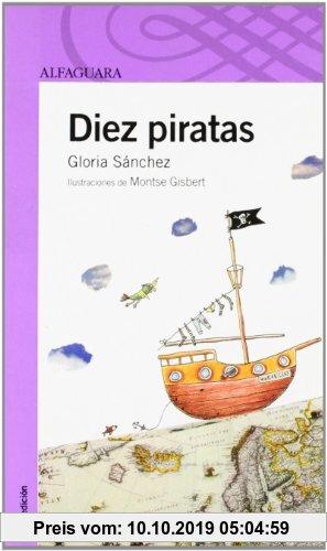 Gebr. - Diez piratas (Infantil Morada 8 Años)