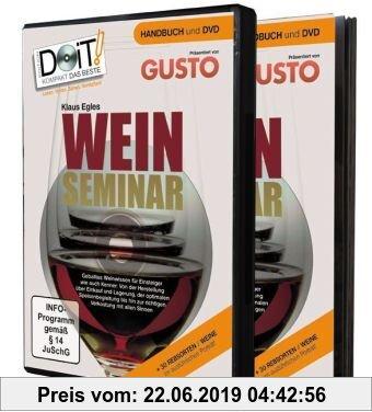 Gebr. - Weinseminar - Handbuch und DVD: Weinwissen für Einsteiger und Kenner - einzigartig als 68 Seiten Handbuch und 152 Minuten DVD!