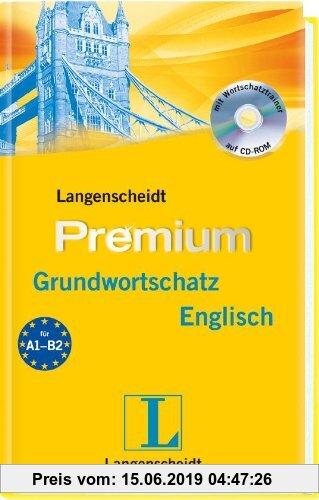 Gebr. - Langenscheidt Premium-Grundwortschatz Englisch - Buch mit CD-ROM: Englisch - Deutsch