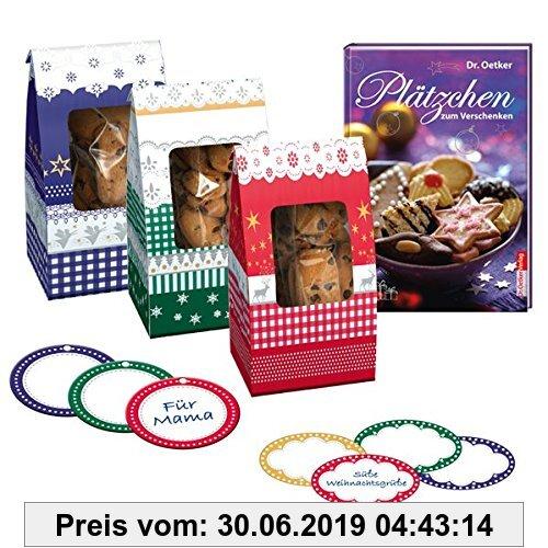 Gebr. - Plätzchen zum Verschenken - Set mit Geschenktüten, Etiketten und Anhängern (BuchPlus)