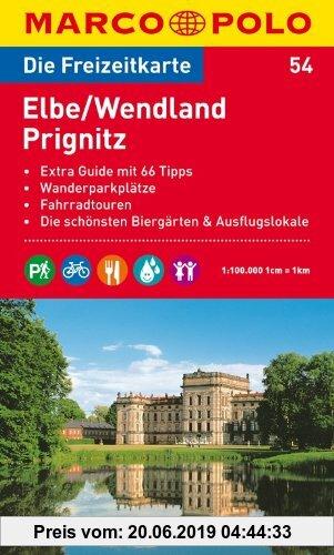 Gebr. - MARCO POLO Freizeitkarte Elbe, Wendland, Prignitz 1:100.000