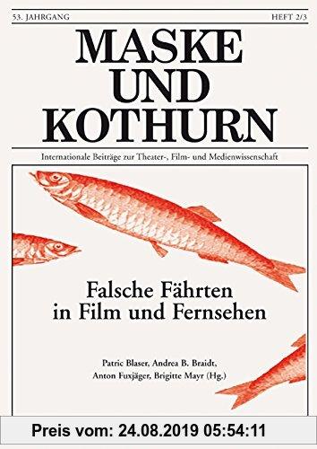 Gebr. - Maske und Kothurn. Internationale Beiträge zur Theaterwissenschaft an der Universität Wien: Maske und Kothurn: Maske und Kothurn. Heft 53/2-3,