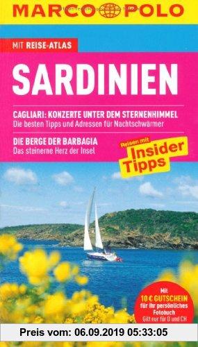 Gebr. - MARCO POLO Reiseführer Sardinien: Reisen mit Insider-Tipps. Mit Reiseatlas und Sprachführer