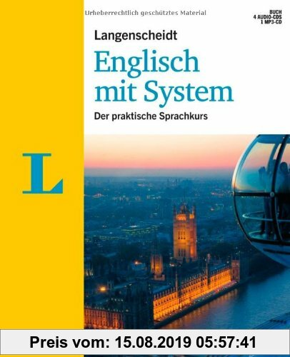 Gebr. - Langenscheidt Englisch mit System - Set mit Buch, 4 Audio-CDs und 1 MP3-CD: Der praktische Sprachkurs