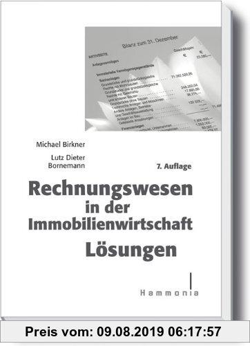 Gebr. - Rechnungswesen in der Immobilienwirtschaft Lösungen