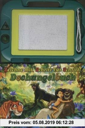 Gebr. - Zaubertafel Dschungelbuch: Zeichne mit, Schritt für Schritt