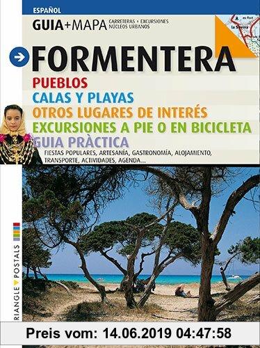 Gebr. - Formentera : pueblos, calas y playas, otros lugares de interés, excursiones a pié o en bicicleta : guía práctica. (Guia & Mapa)